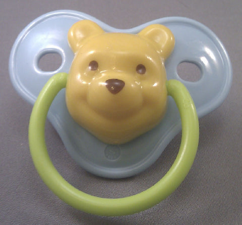 "<div style=""display: none;"">9106</div> Blue dummy Pacifier 3D winnie pooh NUK"