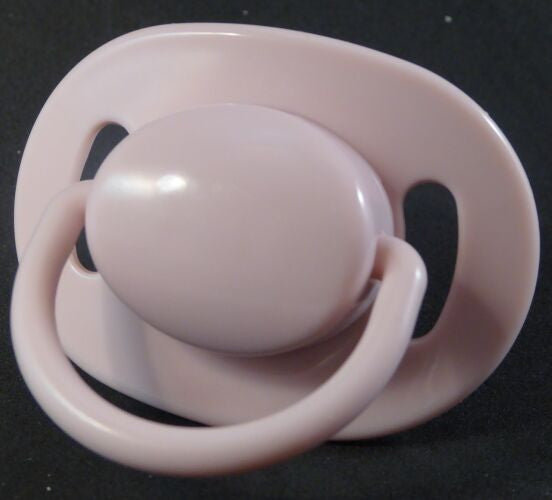 "<div style=""display: none;"">9358</div> dusky pink dummy with Nuk teat"