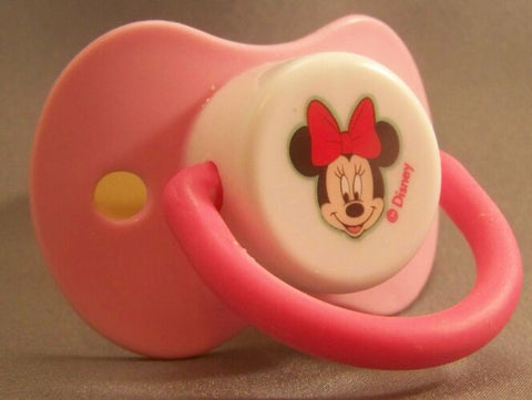 "<div style=""display: none;"">9208</div> MINNIE MOUSE pink & white"