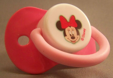 "<div style=""display: none;"">9206</div> MINNIE MOUSE deep pink & white"