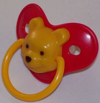 "<div style=""display: none;"">9108</div> Red dummy Pacifier 3D winnie pooh NUK"
