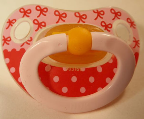 "<div style=""display: none;"">9719</div>  NUK Pacifier, Dummy, Soother, modified with nuk 4 or 5 teat"