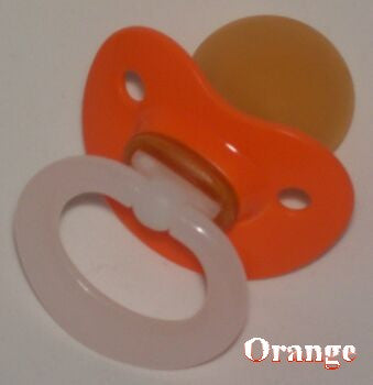 "<div style=""display: none;"">9820</div> orange NUK 4/5 Adult Baby, Pacifier, Dummy, Soother"
