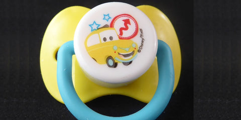 Luigi Pacifier Yellow