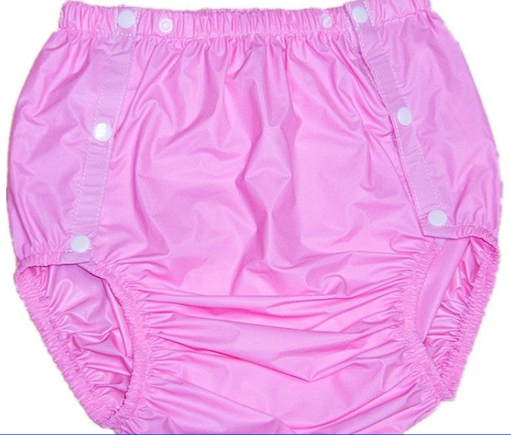 "<div style=""display: none;"">4761</div>  SNAP-FASTENER plastic pants PVC pink"
