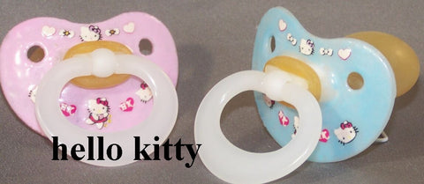 "<div style=""display: none;"">9974</div> NUK Pacifier decorated with Hello Kitty."