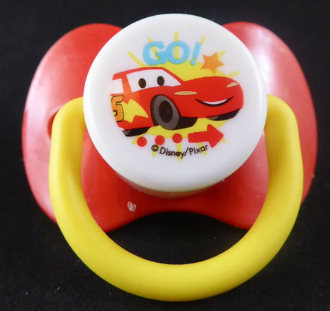 Lightning McQueen Pacifier Red