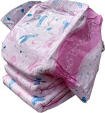 "<div style=""display: none;"">5260Size</div> ""my diaper."" Pink nighttime nappies (diapers)"