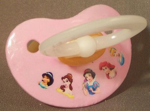 "<div style=""display: none;"">9942</div> NUK pacifier hand decorated with Disney princesses, Snow White and friends"