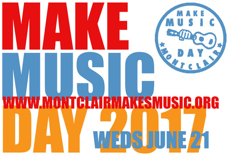 Montclair Makes Music Day 2017