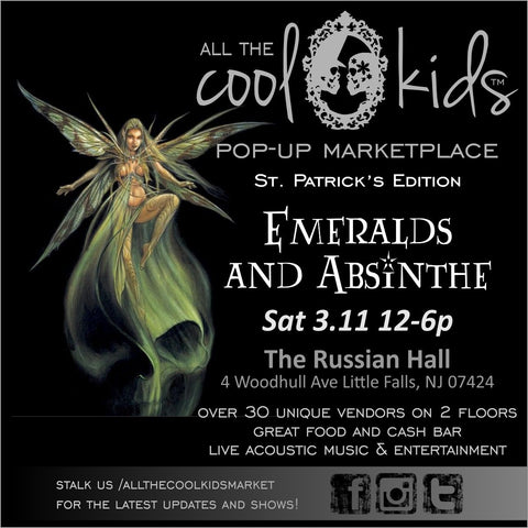 Emeralds and Absinthe in Little Falls 3/11