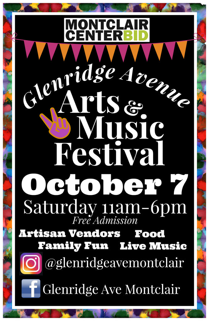 Glenridge Avenue Arts & Music Festival This Saturday, October 7th