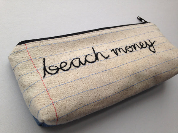Beach Money Bag