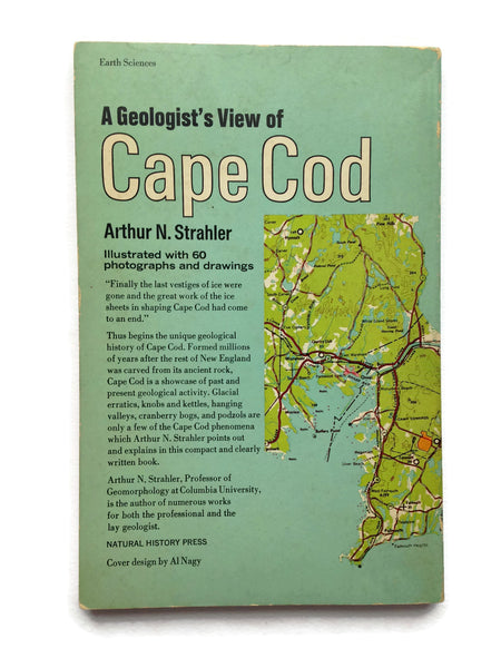 A Geologist's View of Cape Cod - 1966 Paperback Published for the American Museum of Natural History - Good Vintage Condition - Ready to Ship