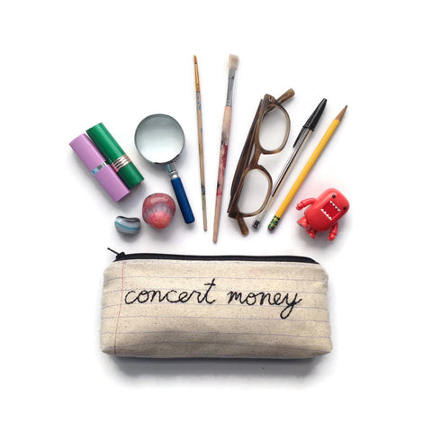 Concert Money Bag