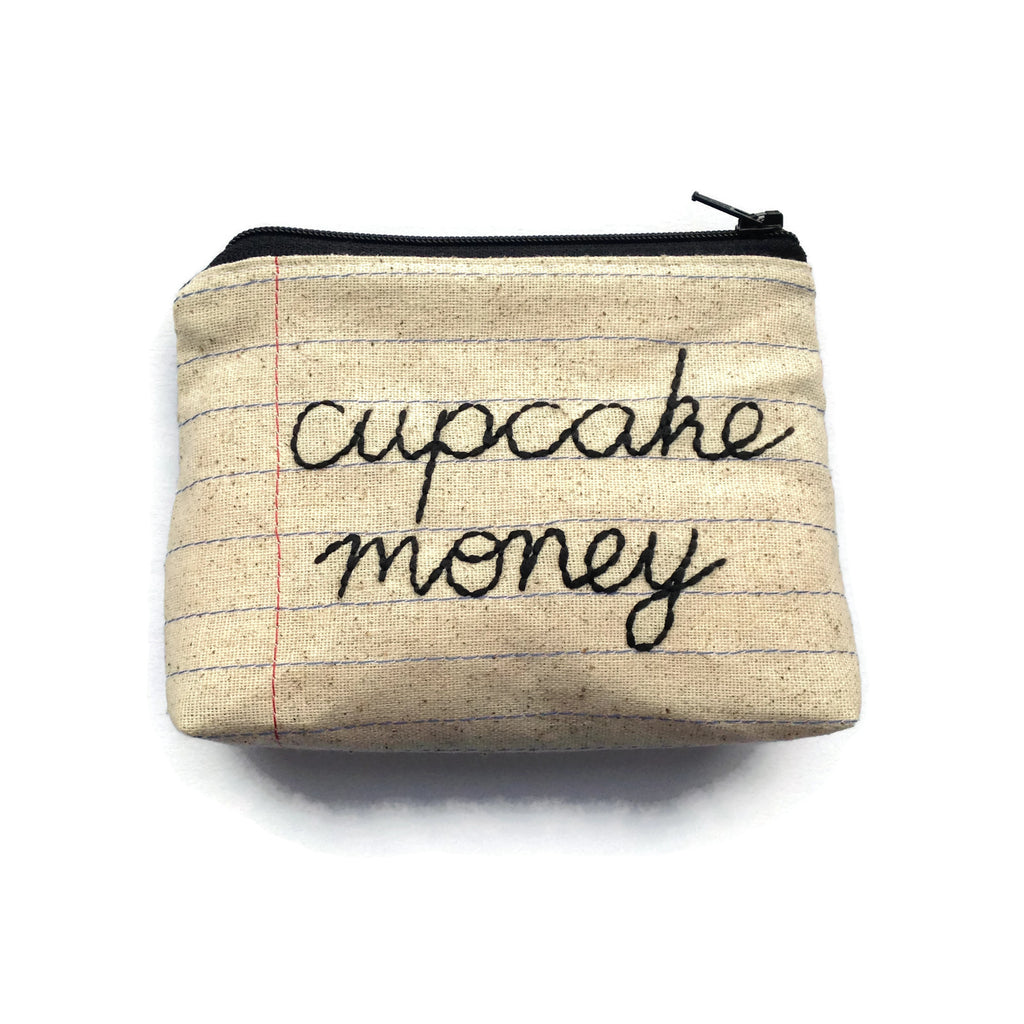 Cupcake Money Bag