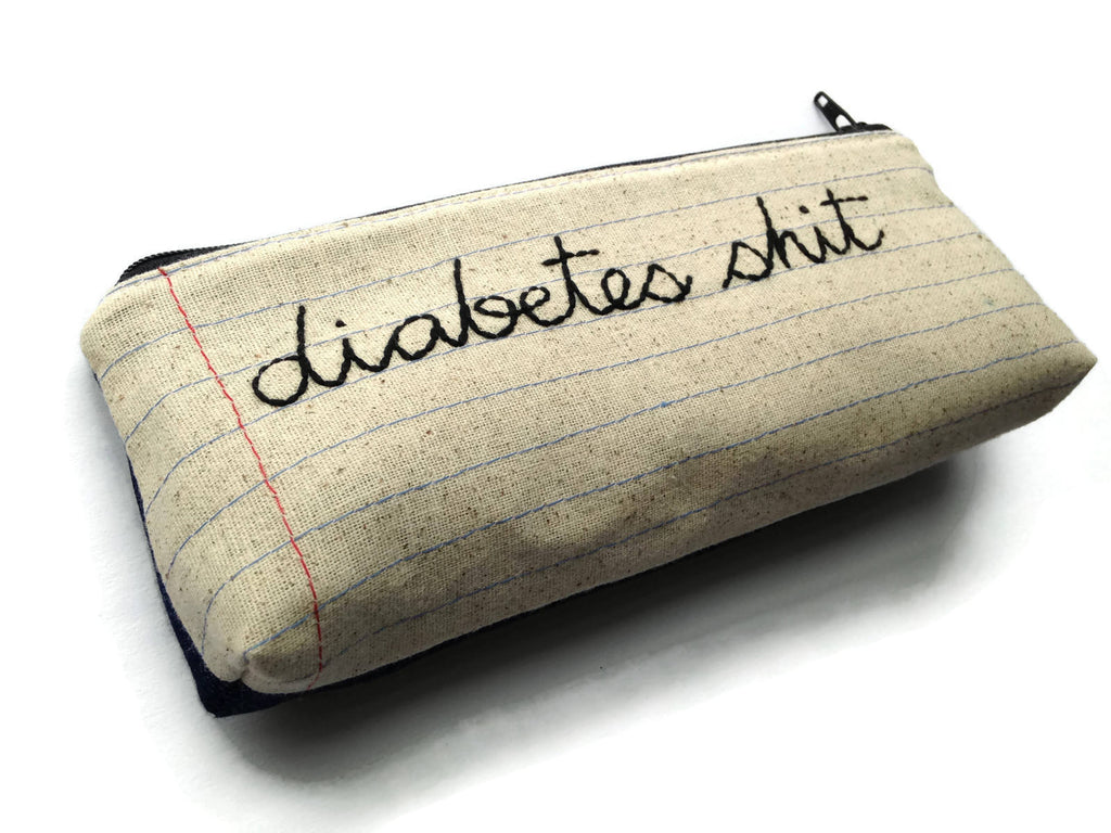 Diabetes Shit Bag - Large
