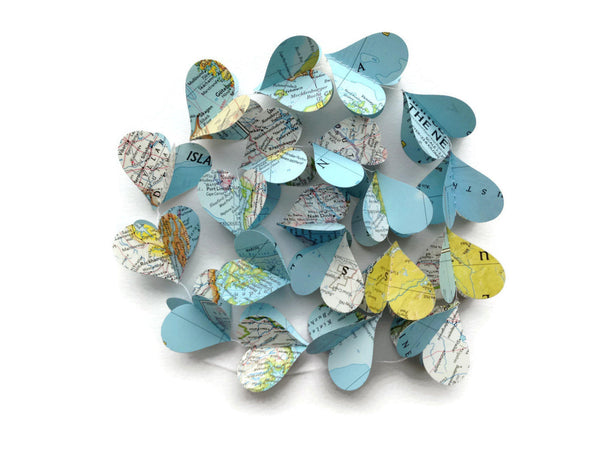 Starter Pack - Paper Heart Garlands - Wholesale - Case Pack of 10