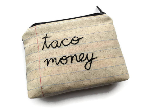 Taco Money Bag - Case Pack of 10 - Wholesale