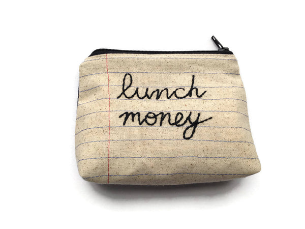Lunch Money Bag