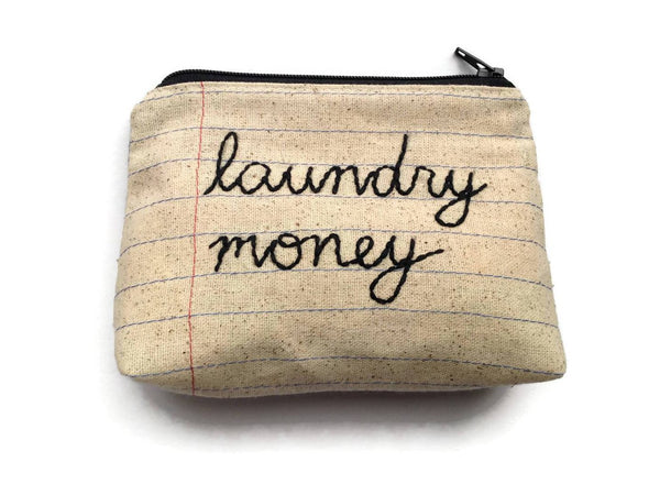 Laundry Money Bag