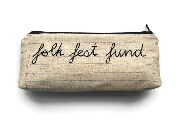 Folk Fest Fund Bag