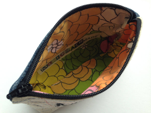 Mad Money Bag - Case Pack of 10 - Wholesale - Handmade Zipper Pouch
