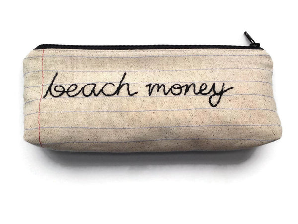 Beach Money Bag - Case Pack of 10 - Wholesale
