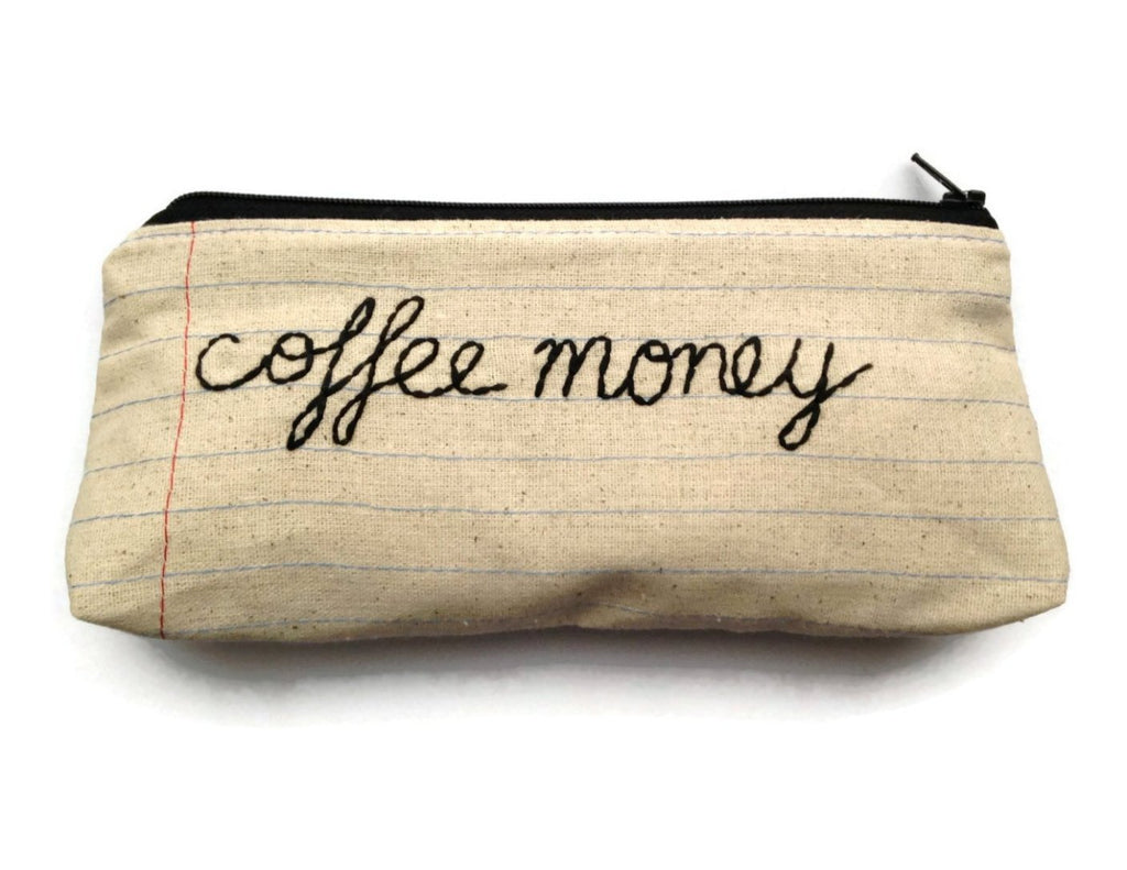Coffee Money Bag - Case Pack of 10 - Wholesale
