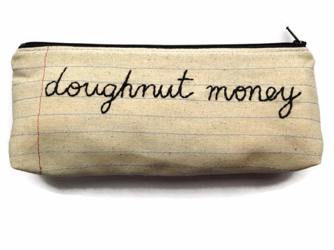 Doughnut Money Bag
