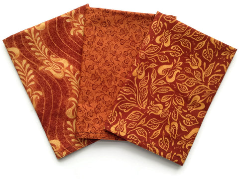 Cloth Napkins - Set of 3 - Reusable