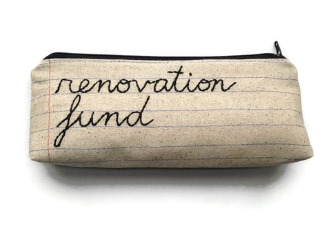 Renovation Fund Bag