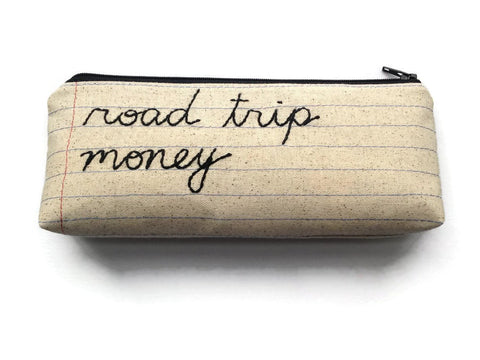 Road Trip Money Bag