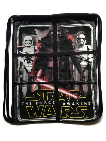 Repurposed Tshirt Back Pack - Star Wars Tshirts
