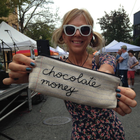 Chocolate Money Bag