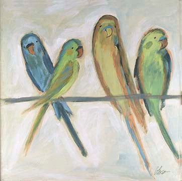 Parakeet Friends