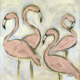 Flamingo Foursome