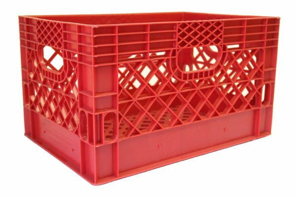 Rectangular Milk Crates - Half Pallet (48)