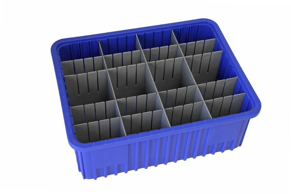 16 1/2 x 10 7/8 x 6 - Dividable Bin Container Bundle