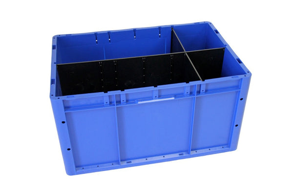 22 1/2 x 17 1/2 x 6 - Dividable Bin Container (3 pack bundle)
