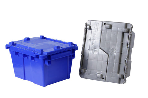 12 x 10 x 7 - Attached Lid Container