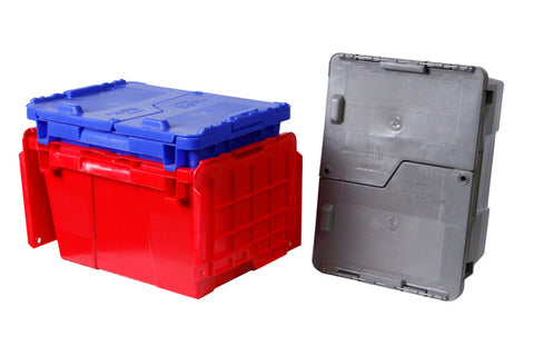 15 x 11 x 9 - Attached Lid Container