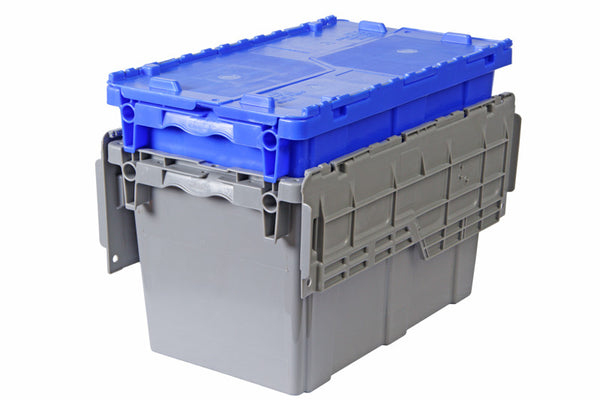 23 x 13 x 12 - Attached Lid Container
