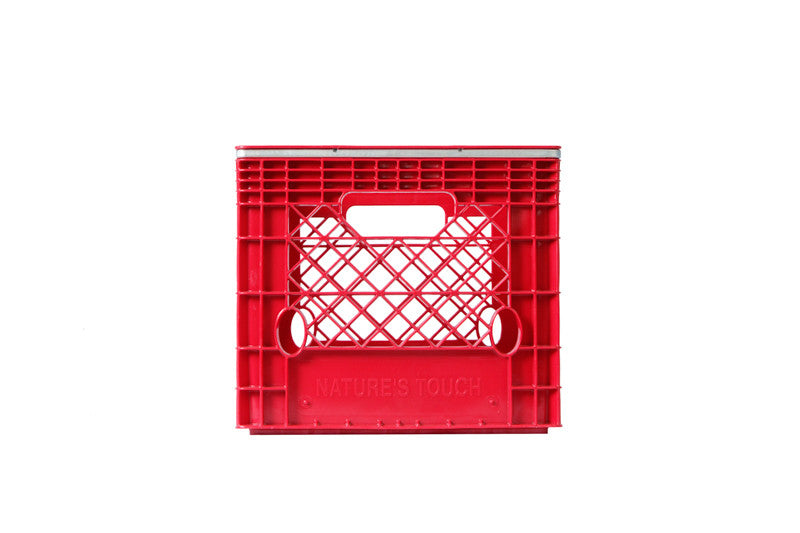 Banded - Square Milk Crates - Full Pallet (108)
