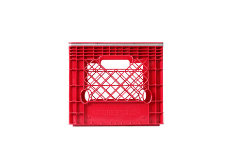 Banded - Square Milk Crates - Half Pallet (54)