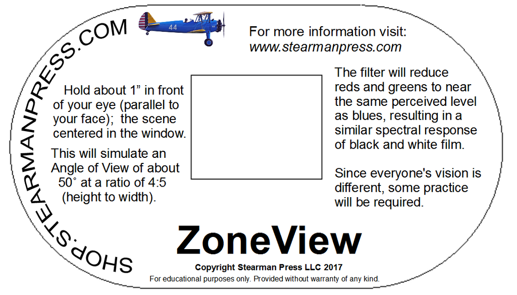 ZoneView: preview framing/filter hack