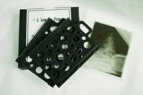 Plate Holders for J. Lane Glass Dry Plates, (pair)