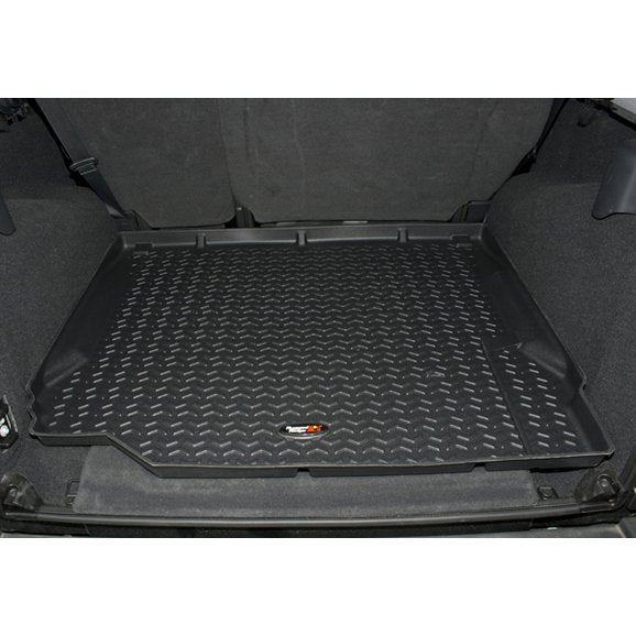 Rugged Ridge Rear Cargo Liner for 07-10 Jeep Wrangler JK - Black Dog Offroad