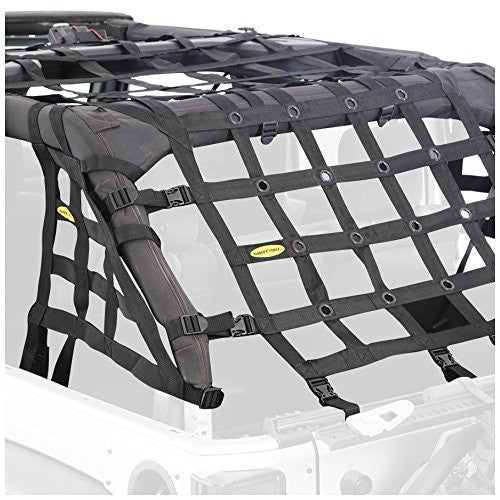 Smittybilt CRES HD - Cargo Restraint System for 97-06 Jeep Wrangler TJ