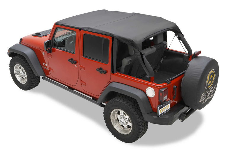 Bestop Sailcloth Replace A Top With Tinted Windows For 10 16 Jeep